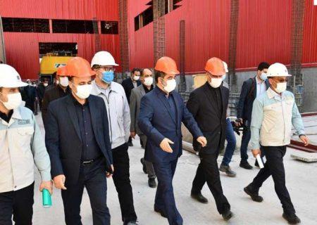 قدردانی معاون هماهنگی امور اقتصادی و توسعۀ منطقهای وزارت کشور از فولاد مبارکه