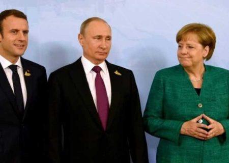 روسای فرانسه و روسیه و همچنین آنگلا مرکل به توافق برای انجام اقدام هایی در مورد توافق هسته ای دست یافتند