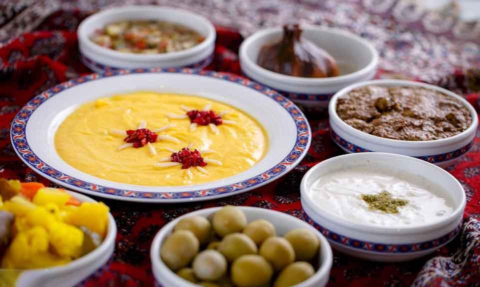 غذای های سنتی اصفهان