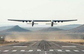 دومین پرواز بزرگترین هواپیمای جهان