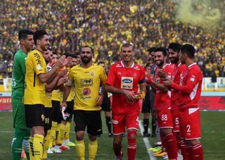 دیدار دو تیم طلایی پوشان و سرخ پوشها در اصفهان
