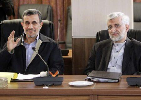 سعید جلیلی از احمدی نژاد جلو زد