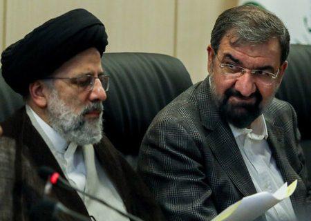 محسن رضایی به رئیسی تبریک گفت