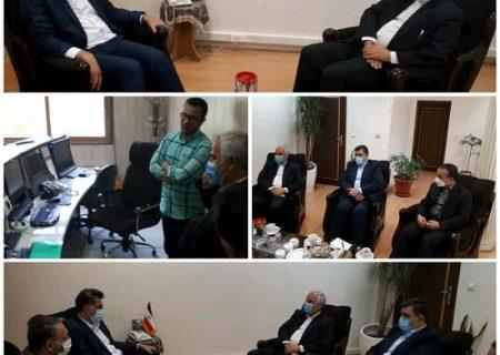دیدار مدیر مخابرات با مدیر کل صدا و سیمای مرکز اصفهان